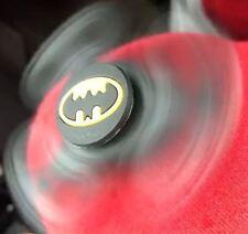 RARE BatMAN Black Cartoon Kids Fidget Finger Spinner Spin Toys UK SELLER