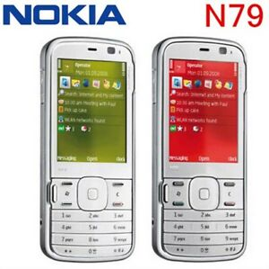 Original-Unlocked-Nokia-N79-Mobile-Cell-Phone-3G-GPS-WIFI-Camera-5-0MP-Free-Ship