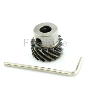 Replacement grinding arc-toothed bevel pinion ring gear set metal gear W7E6