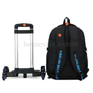 Image Is Loading Kids Children Trolley Backpack School Luggage Hand Bag