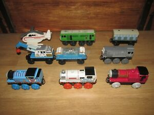 Thomas-amp-Friend-039-s-Rare-Wooden-Train-039-s-amp-Carriages-Bundle-Job-Lot