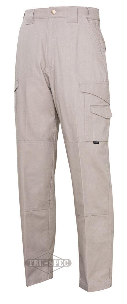TRU-SPEC 24-7 Series  Mens Tactical Pants 100% Cotton Canvas KHAKI  online at best price
