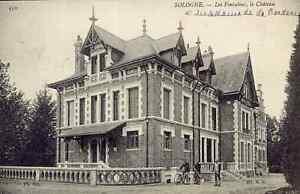 41-cpa-En-Sologne-LES-FONTAINES-Le-chateau