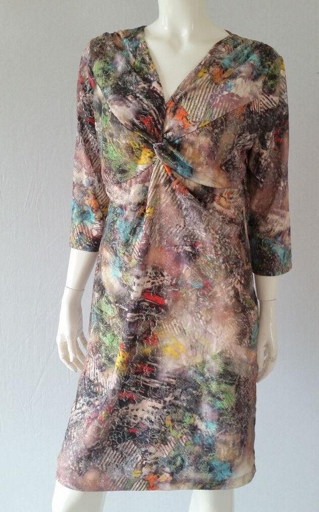 BiBA Kleid  Serie Mandarin Gr. 42---UK16gratis KetteNEU