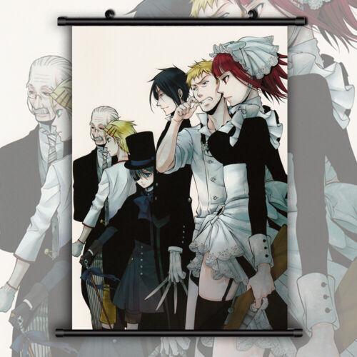Black Butler Kuroshitsuji Undertaker Wallscroll Poster Kunstdrucke Bider Drucke