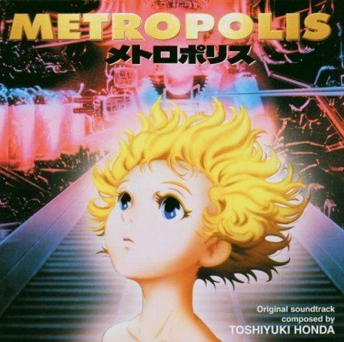 Toshiyuki Honda-Metropolis CD Soundtrack  New