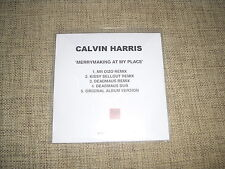 CALVIN HARRIS - MERRYMAKING AT MY PLACE - 5 TRACK ACETATE DJ PROMO RMX  DEADMAU5
