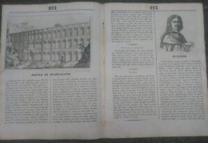 1835-RIVISTA-039-L-039-ALBUM-039-PONTE-DI-MADALONI-CASERTANO-ORANGUTANG-POUSSIN