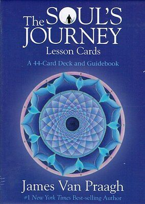 The Soul's Journey Lesson Cards by James Van Praagh NEW & Sealed
