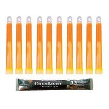 "CYALUME SnapLight Lampe de sécurité Glow Sticks 6/"" long 12 HR jaune exp 2022 6 pcs"