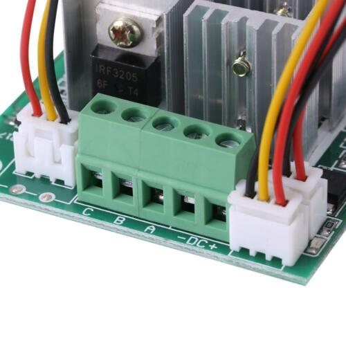 DC5V-36V 15A 3-Phase Brushless Motor Speed Control CW CCW Reversible Switch gl0