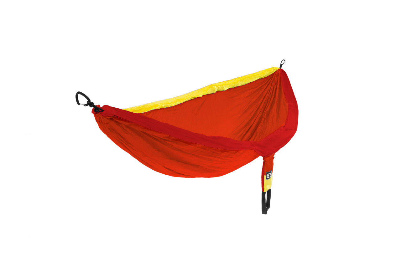 Eagles Nest Outfitters Eno Doble Hamaca Sol - Rojo, Naranja, Amarillo