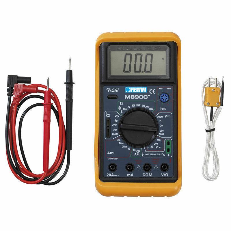 Digital-Multimeter mit sonda für Messung Temperatur, Kontinuität SonoraT050