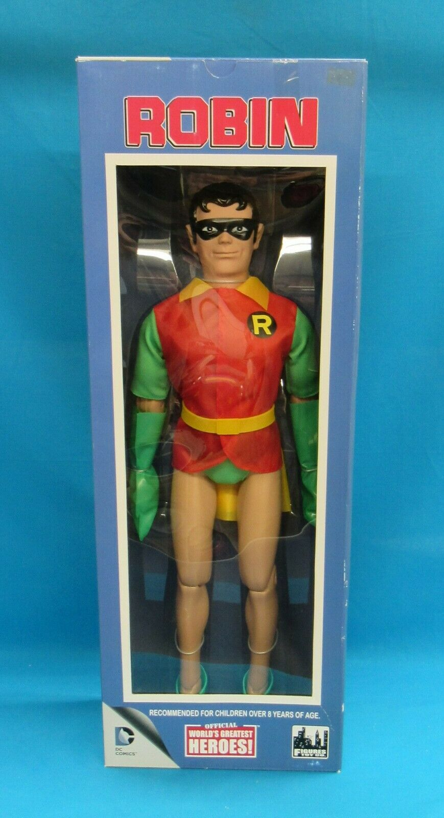 Figuras Juguete Co DC Comics oficial más grandes del mundo héroes  Robin 18 en la figura