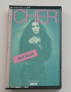Cher Cassette Half Breed 1985 MCA Records Tape