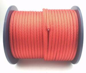 6mm-Rojo-Poliester-x-50-metros-TRENZA-EN-MARINA-Cuerda-Doble