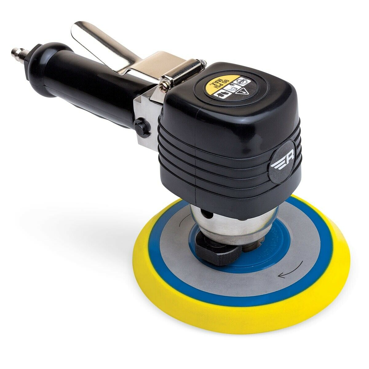 Rockwood 6 inch Dual Action Air Sander Over Molded Ergonomic Grip Low Vibration. Buy it now for 34.99