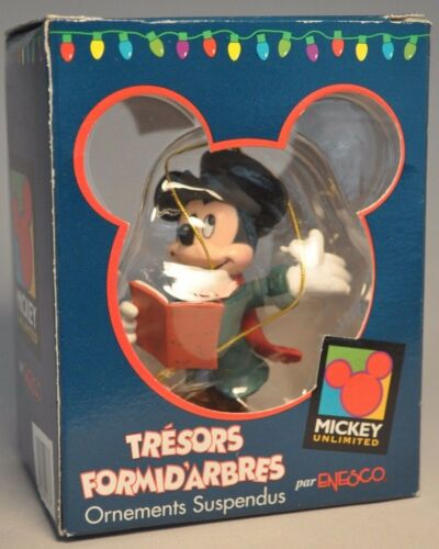 Enesco Mickey Mouse Tresors Formidarbres Mickey Unlimited 177407 Ornament