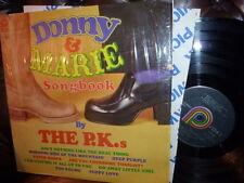 P.K.s, Donny & Marie Songbook, Pickwick SPC-3572 1977