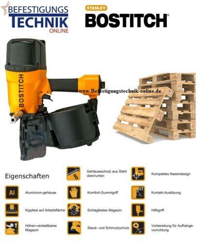 Bostitch Coilnagler N401C-1-E Nagler für Euro Paletten 16° EPAL UIC Coil Nägel