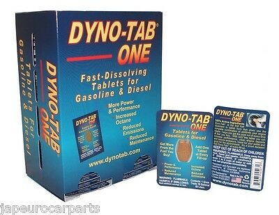DYNO-TAB ONE Tablet For Petrol And Diesel Treatment  Fuel Injector Cleaner x1
