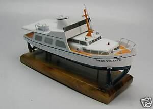 Details about Thunderball James Bond 007 Yacht Desktop Wood Model Free  Shipping Regular New
