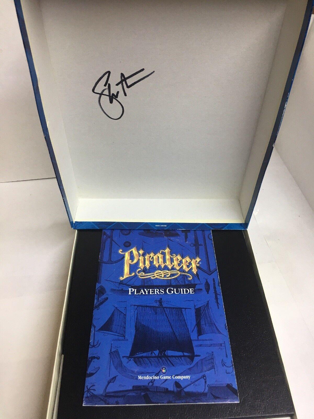 Pirateer (1994, empresa de juego mendocino) - Completo firmado Raro Juego De Mesa Usado En Excelente Condición