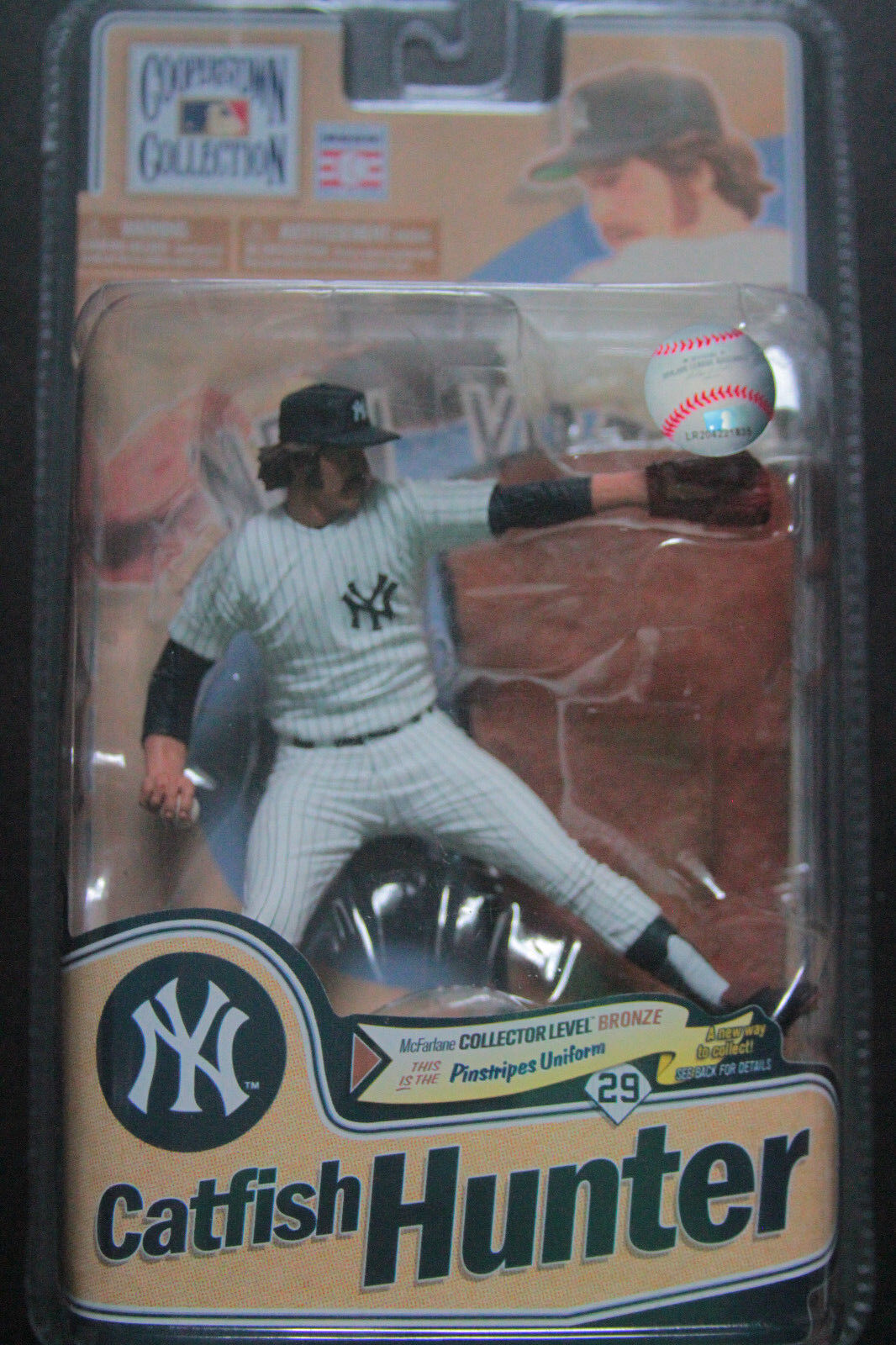 McFarlane MLB New York Yankees Catfish Hunter LIMITED EDITION EDITION EDITION ONLY 2,000 MADE aa2125