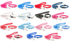 Ancol-Small-Bite-Puppy-Small-Dog-Collar-and-Lead-Sets-Set-Fully-Adjustable