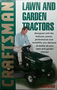 image is loading sears craftsman lawn garden tractor 1998 color sales - Sears Lawn And Garden
