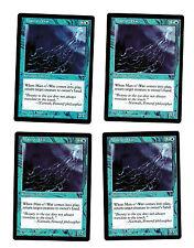 4x Man-O'-War EX Visions Mtg Magic Commander EDH 4x x4