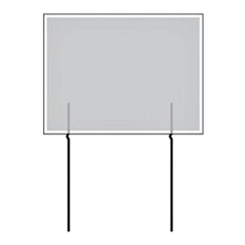 """Full Color Double Sided 24/""""w x 18/""""h Cheese Curbside Sign"""