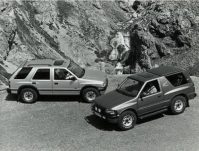 Automobilia 2019 Neuer Stil Pressefoto 1993 Opel Frontera 21,5x16,5 Cm Press Photo Auto Pkws Autofoto Foto