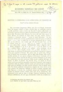 1974-Ernesto-PONTIERI-Alfonso-I-d-039-Aragona-e-Callisto-III-Invio-autografo