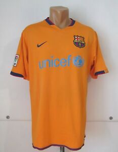 6de211cef BARCELONA SPAIN 2006 2007 AWAY FOOTBALL SHIRT SOCCER JERSEY CAMISETA ...
