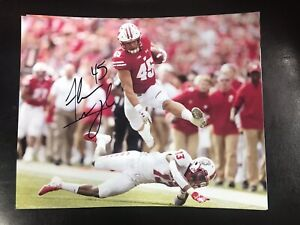 Alec Ingold Wisconsin Badgers signed autographed 8x10 ...