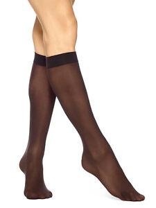 eba9f135212 Image is loading Hue-Women-039-s-Opaque-Knee-High-Socks-