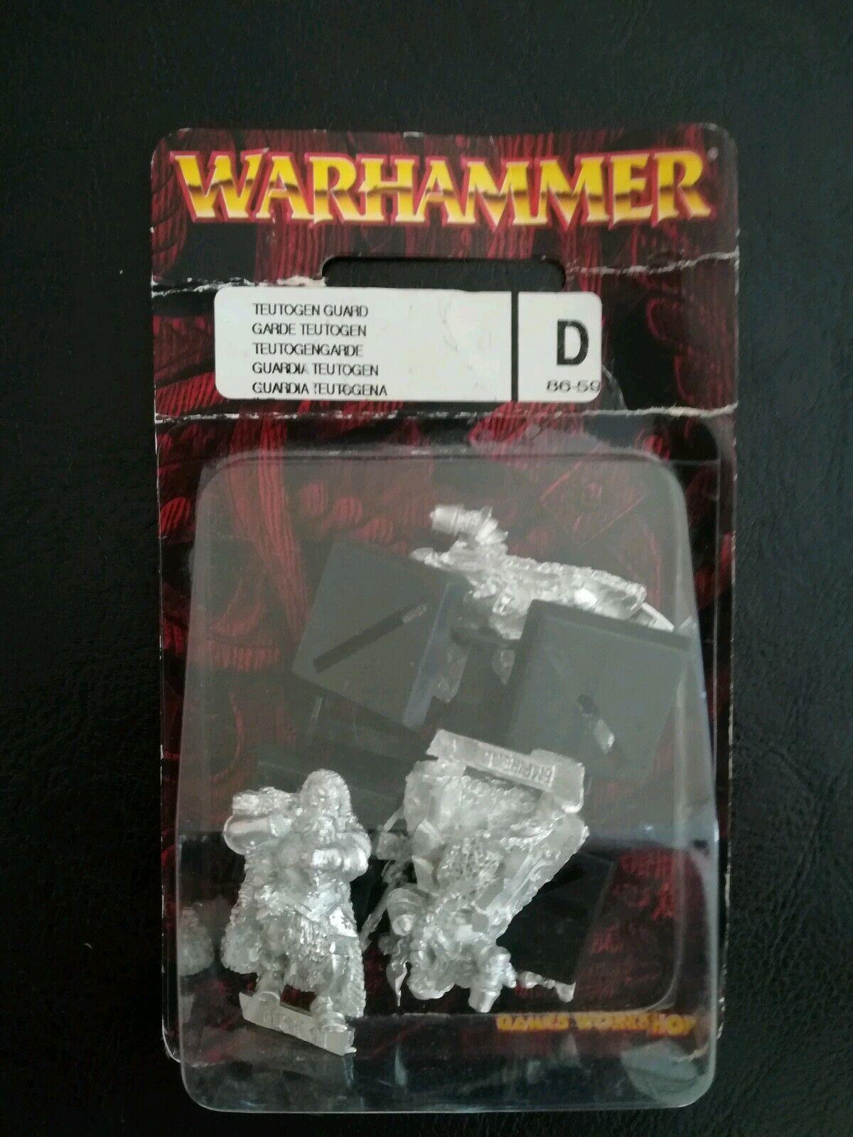 TEUTOGEN GUARD WARHAMMER METAL Empire Teutogena Imperio Middenheim