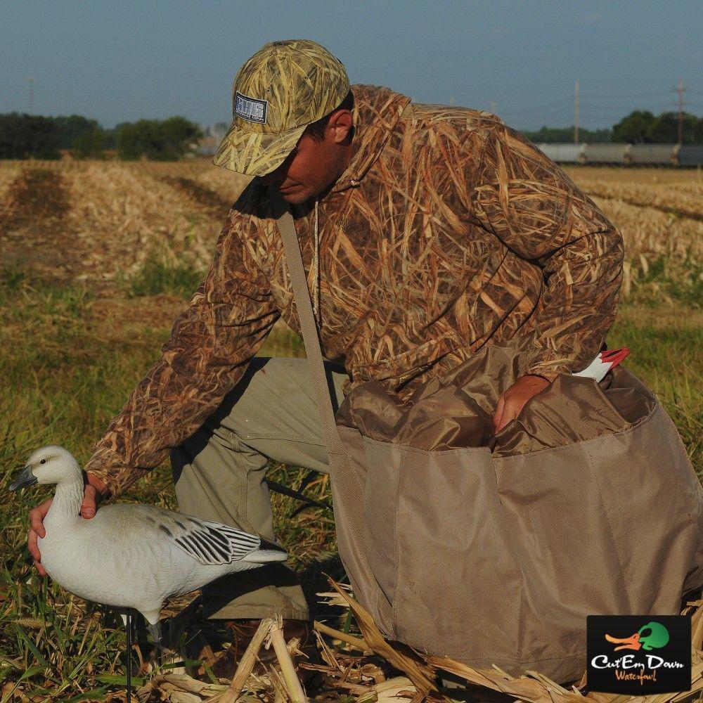 Avery verdehead Gear GHG 12 ranuras de ganso de cuerpo completo de mediano tamaño Bolsa Señuelo campo de Color caqui