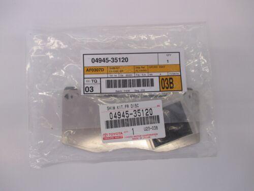 LEXUS OEM FACTORY FRONT BRAKE PAD SHIM KIT 2003-2009 GX470 04945-35120