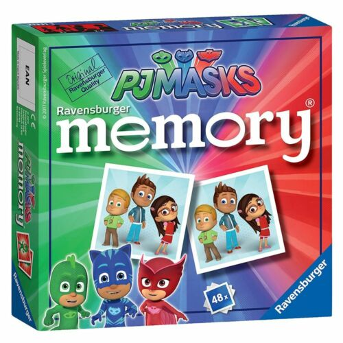 Mini Memory ®48 figurespyjama HérosPJ MasksRavensburgerjeu