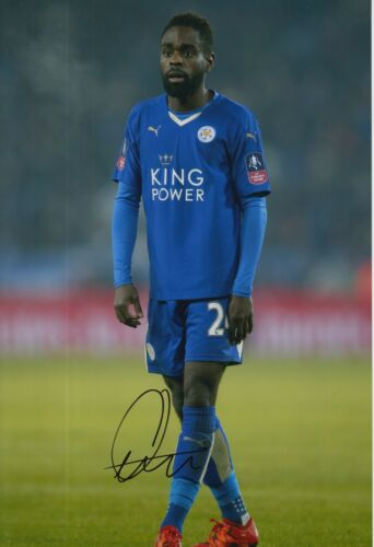 LEICESTER CITY HAND SIGNED NATHAN DYER 12X8 PHOTO.