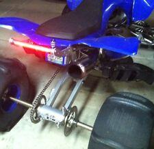 Yamaha YFZ450 / YFZ 450 Rear Grab Bar w/ Built In LED light / Atv Bumper