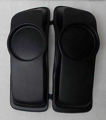 Harley Davidson 6.5 Inch  Speaker lids 4 Touring Flh Hard Saddlebag Baggers