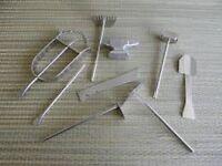 Tools, Juego Herramientas Elegua, Oggun, Ochosi, Babalawo, Orula, Ifa, Santeria