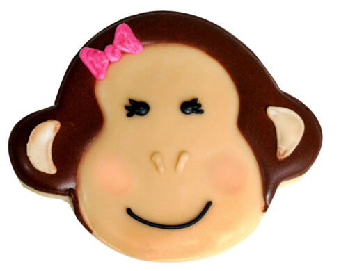 """3.5/"""" Monkey Face Planet R/&M Cookie Cutter Zoo Wild Animal Outer Space Party"""