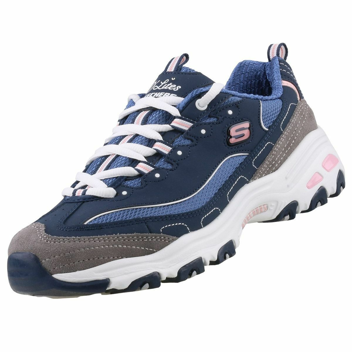 Skechers Nuevo Zapatos Zapatillas Mujer D´ Cordones Lites dwxpzw4H