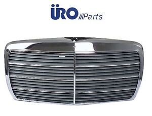 For-Mercedes-W123-230-280E-280CE-Grille-Assembly-Screen-Frame-Brand-URO-PARTS