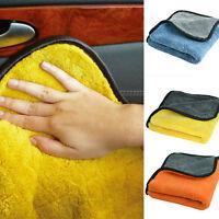 45cmx38cm Microfiber Cloths Towels Super Soft Plush Car Cleaning Cloths FI