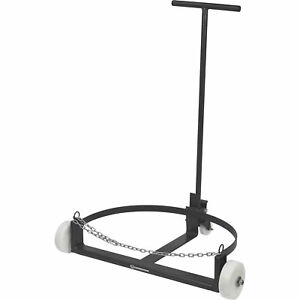 Strongway Low Profile Drum Caddy - 55-Gallon, 1200-Lb. Capacity